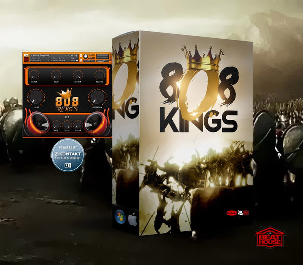 808 Kings Kontakt Library