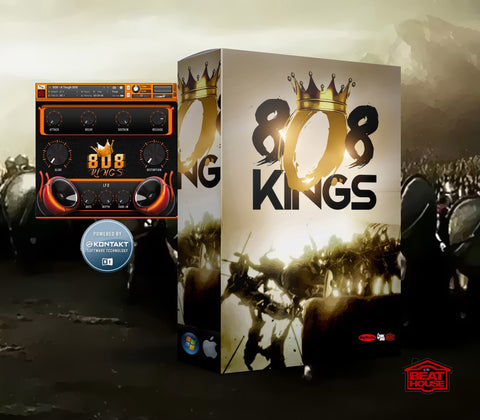 808 Kings Kontakt Library (VST)