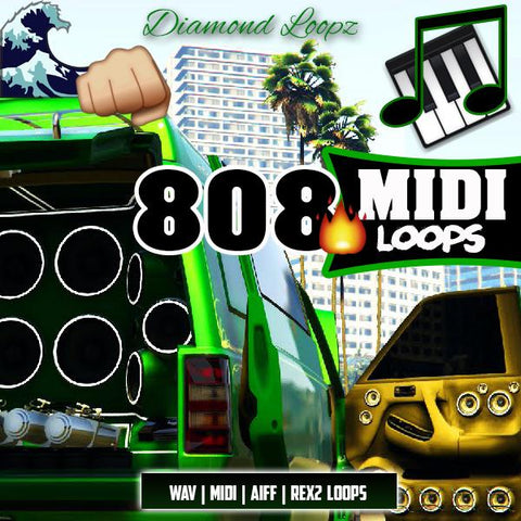 808 MIDI Loops - WAV Loops, One-Shots & MIDI Files