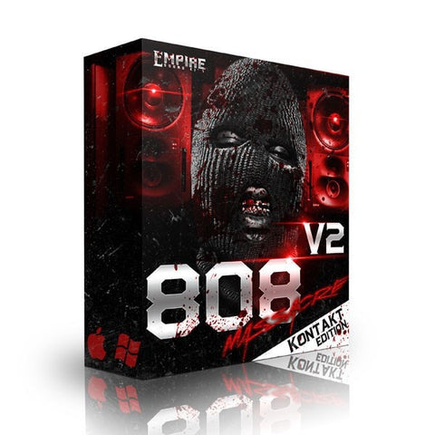 808 Massacre V2 (Kontakt Bank)