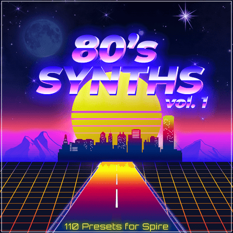 Spire 80s Synths - 110 Presets