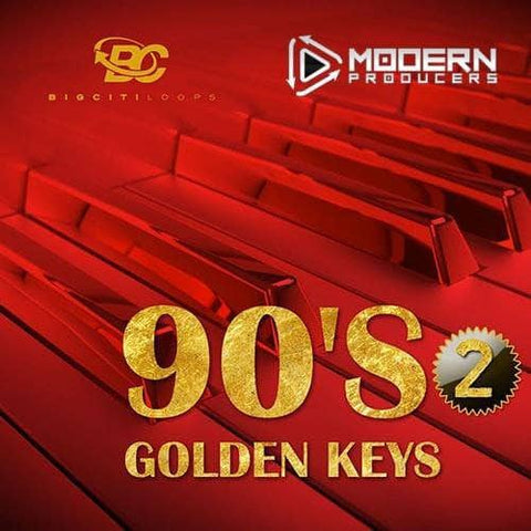 90s Golden Keys (R&B Construction Kit)