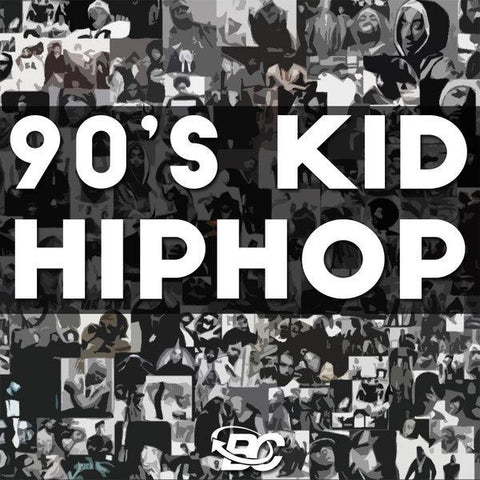 90s Kid Hip Hop - Beat Construction Kit in WAV & MIDI