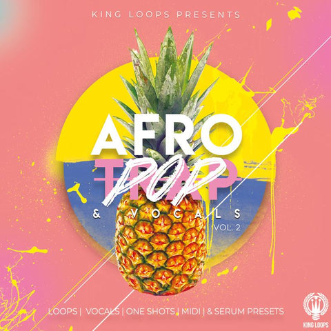Afro Trap & Vocals Vol.2 - Construction Kit, MIDI Files & Presets