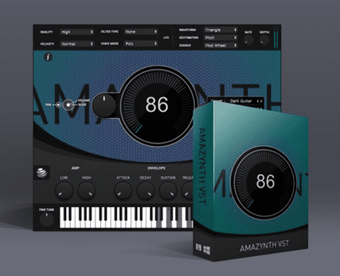 Amazynth VST - 230 High Quality Sounds