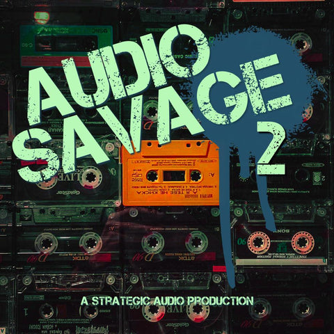 Audio Savage 2 - Radio-Ready Hip Hop Samples