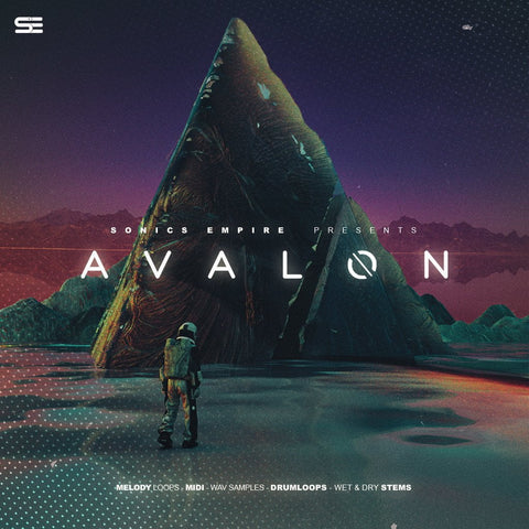 Avalon (Sample Pack) - WAV Samples, MIDI Files & Drum Loops