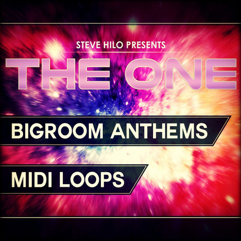 Bigroom Anthems (MIDI Loops)