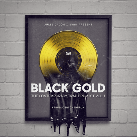 Black Gold Drum Kit