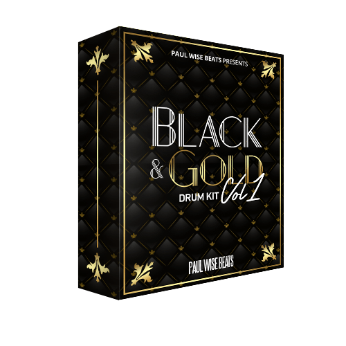 Black & Gold Drum Kit Vol.1
