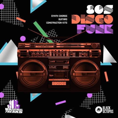 80s Disco Funk - Song Kits, Chords & Vocals