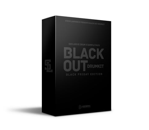 Black Out Drumkit [BLACK FRIDAY EDITION]
