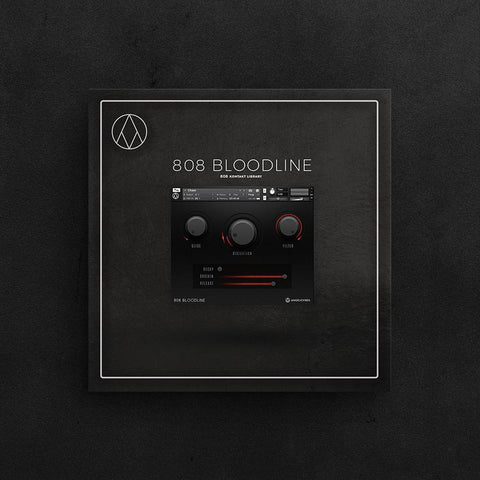 Bloodline (Kontakt Library) - Unique 808 Drums