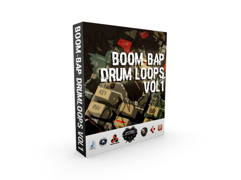 Boom Bap Drum Loops Vol.1 - Hip Hop Drums