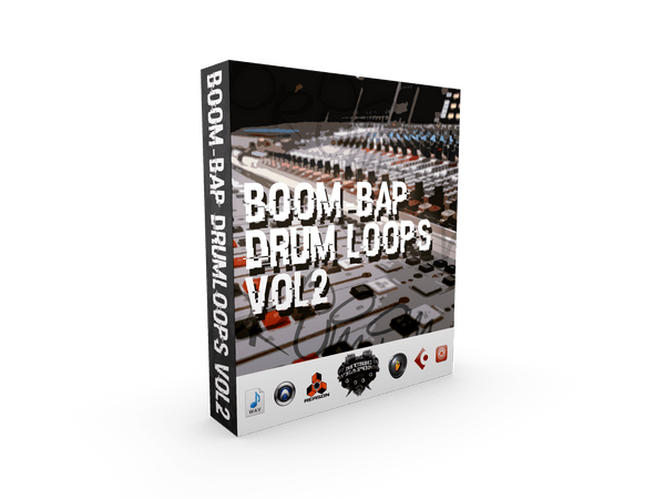 Boom Bap Drum Loops Vol.2