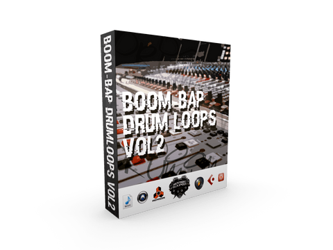 Boom Bap Drum Loops Vol.2 - Drums for Hip Hop