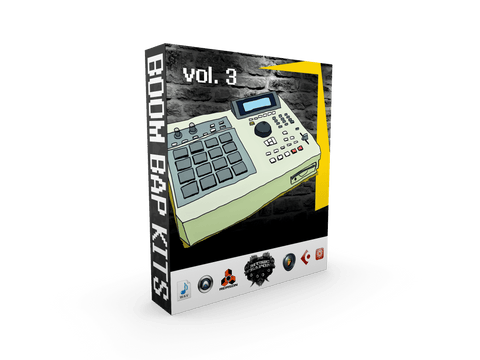 Boom Bap Drum Kits Vol.3 - Authentic Hip Hop Drums