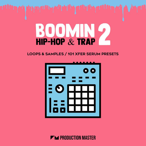 Boomin Hip Hop & Trap 2 - Samples & Presets