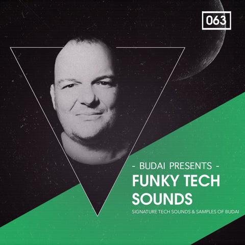 Funky Tech Sounds - DJ Budai Sample Kit