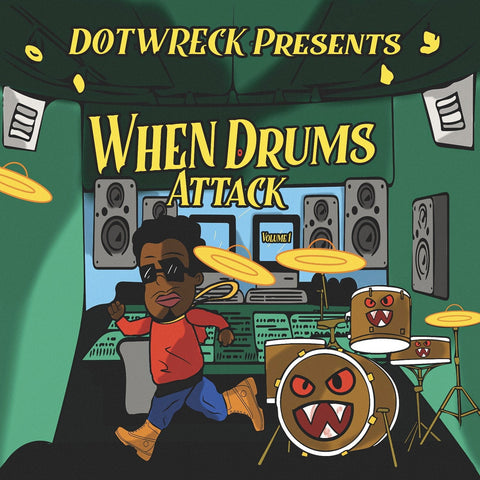 When Drums Attack Vol.1 - Epic Hip Hop Drum Collection