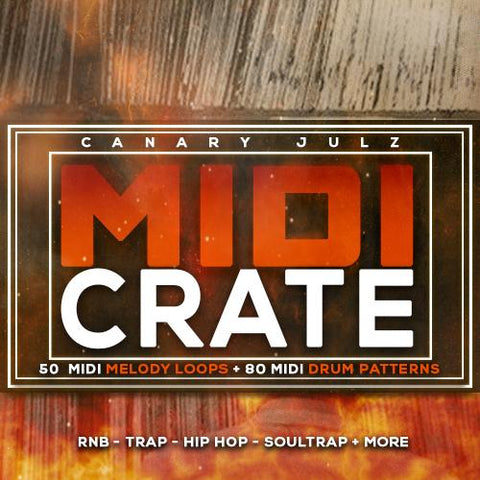 MIDI Crate - Custom MIDI Keys & Drums Pack