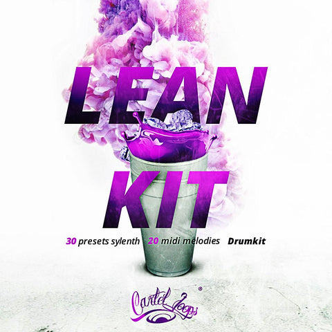 Lean Kit - Drum Kit, Construction Kit & Sylenth Bank