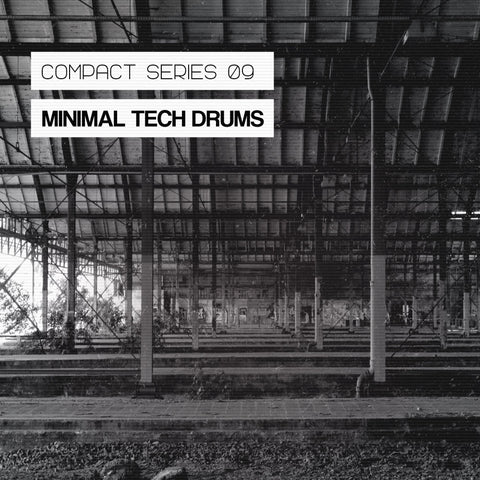 Minimal Tech Drums - Drum Hits, Drum Beats & Loops