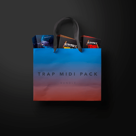 Trap MIDI Pack Bundle - 250 MIDI Files