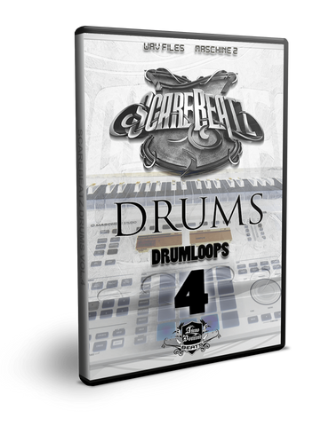 Scarebeatz Drums Vol.4 (Drumloops) - WAV + Maschine