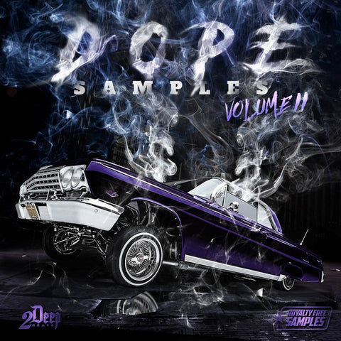 DOPE Samples Vol.2 (Royalty Free Instrumentals)