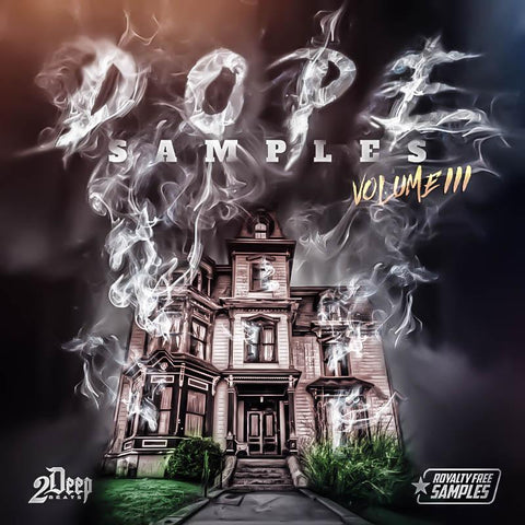 DOPE Samples Vol.3 - Royalty Free Sample Instrumentals