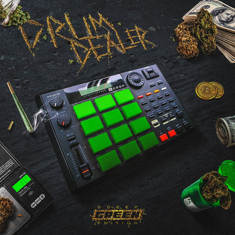 Drum Dealer: Green Edition - Hip Hop & Trap Drums