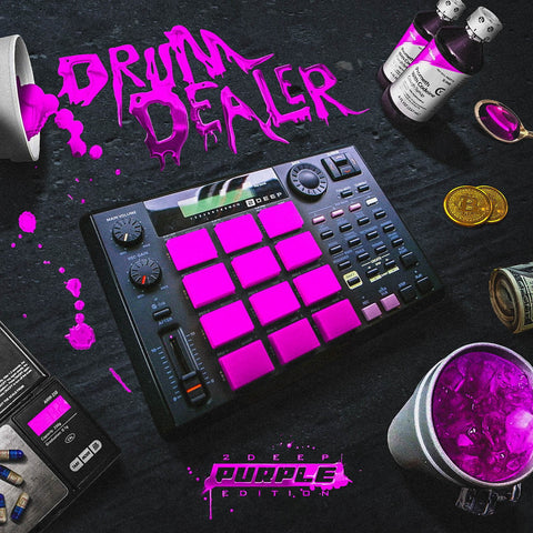 Drum Dealer: Purple Edition - One-Shot Drums & FX