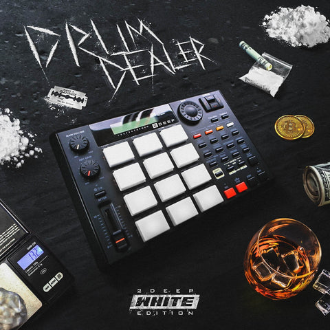 Drum Dealer: White Edition - Trap Drum Kit