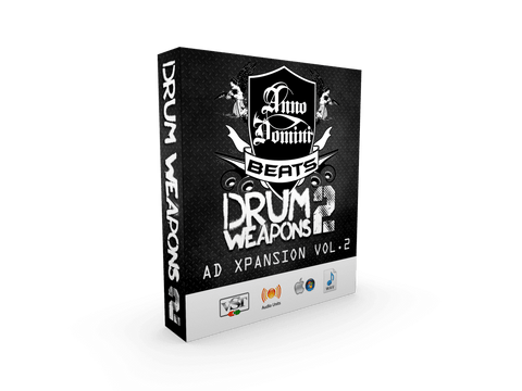 AD Drum Weapons Xpansion Vol.2