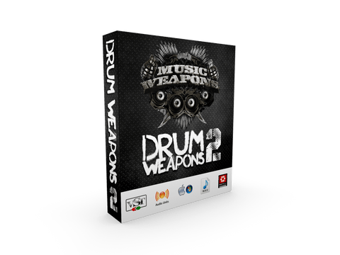 Drum Weapons 2 - VST for Hip Hop Drums