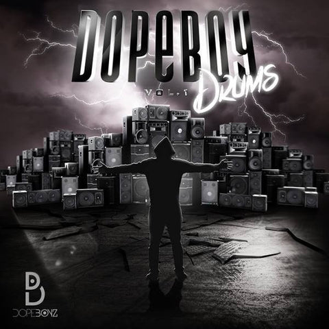 DopeBoy Drums Vol.1 - Drum One Shots & Instrument Hits