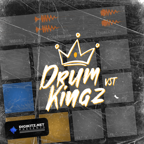 Drum Kingz VST - MPC Style Plugin