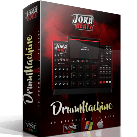 Drum Machine VST - PC & Mac Drum Plugin