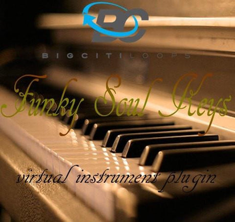 Funky Soul Keys: Virtual Instrument Plugin