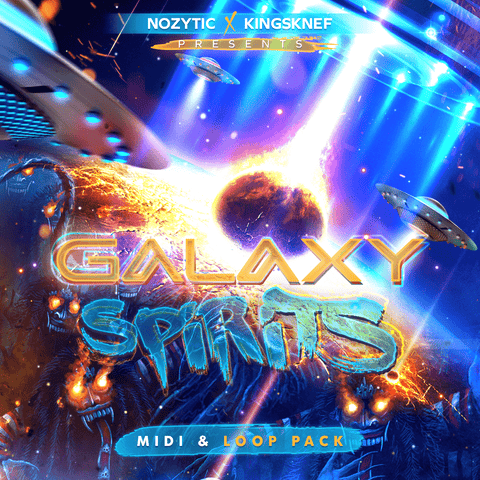 Galaxy Spirits - MIDI Melodies & WAV Loops