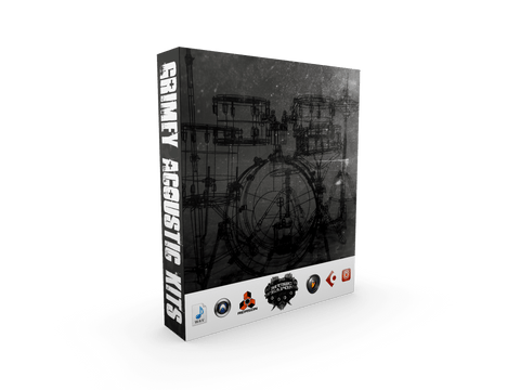 Grimey Acoustic Kits - Hip Hop Drum Kit