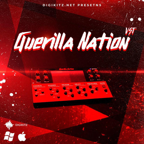 Guerilla Nation VST - 130 Presets