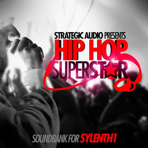 Hip Hop SuperStar for Sylenth1 - 50 Presets
