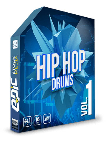 Iconic Hip Hop Drums Vol.1 - Kicks, Snares, Hats & FX