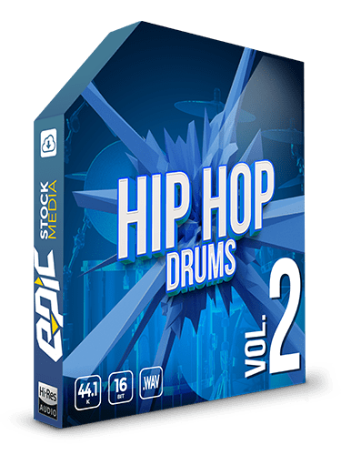 Iconic Hip Hop Drums Vol.2