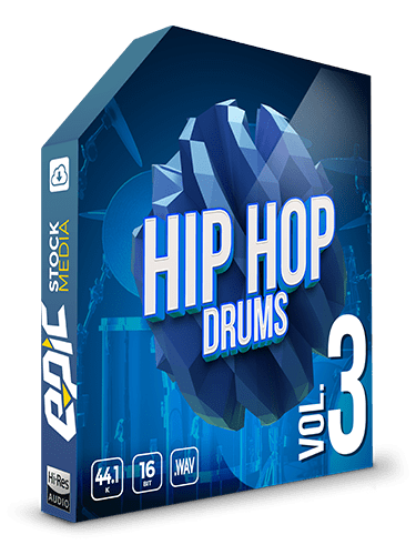 Iconic Hip Hop Drums Vol.3