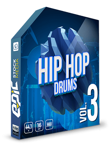 Iconic Hip Hop Drums Vol.3 (Boom Bap Drum One-Shots)