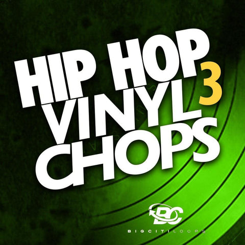 Hip Hop Vinyl Chops 3 (Sample Pack)