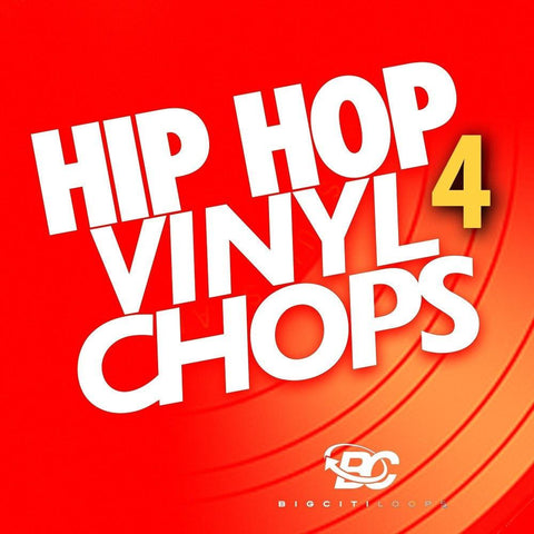 Hip Hop Vinyl Chops 4 (Loop Pack)